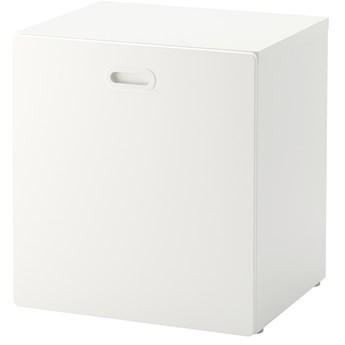 IKEA STUVA / FRITIDS Pojemnik na zabawki, na kółkach, Biały/biały, 60x50x64 cm