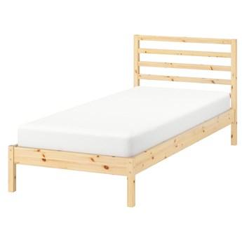 IKEA TARVA Rama łóżka, sosna/Lönset, 90x200 cm