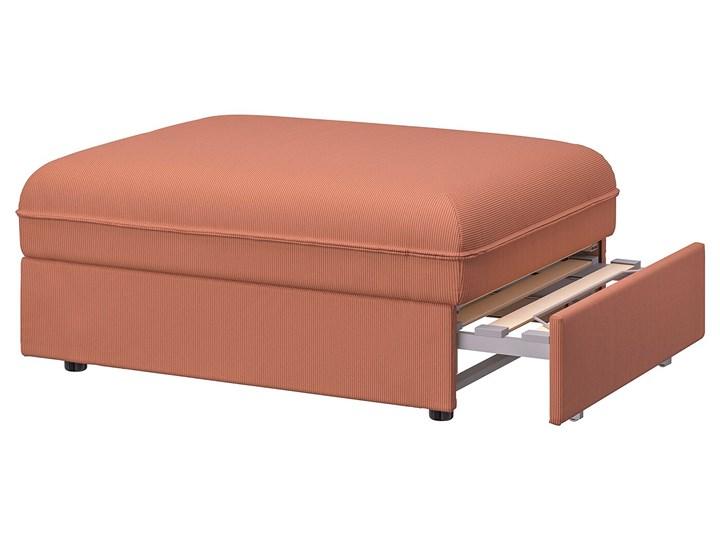 IKEA VALLENTUNA Moduł sofy rozkładanej, Kelinge rdzawy, Szerokość: 80 cm Typ Gładkie Modułowe Głębokość 100 cm Powierzchnia spania 80x200 cm