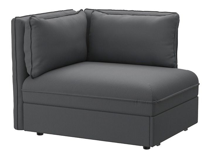 IKEA VALLENTUNA Moduł sofy rozkładanej z oparciem, Kelinge antracyt, Szerokość: 113 cm Modułowe Boki Bez boków