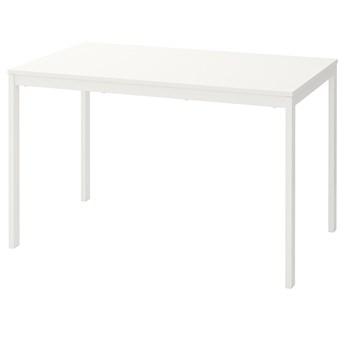 IKEA VANGSTA Stół rozkładany, Biały, 120/180x75 cm