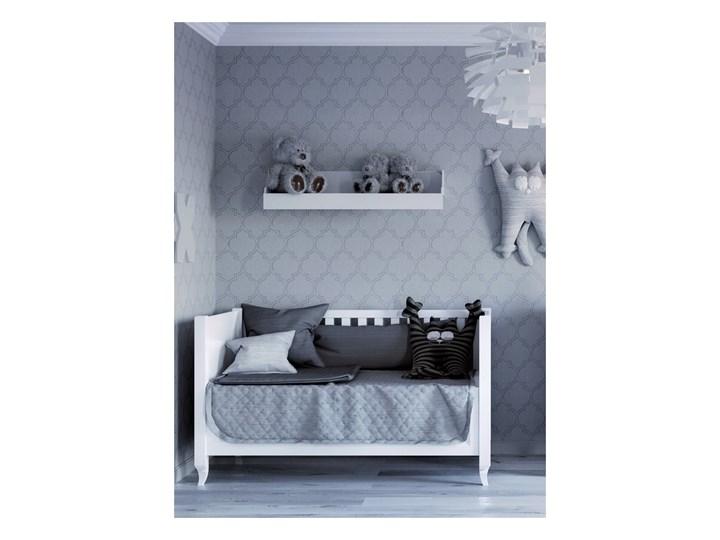 ALEX Łóżeczko A14 , Kolor - Biały Rozmiar materaca 70x140 cm Kategoria