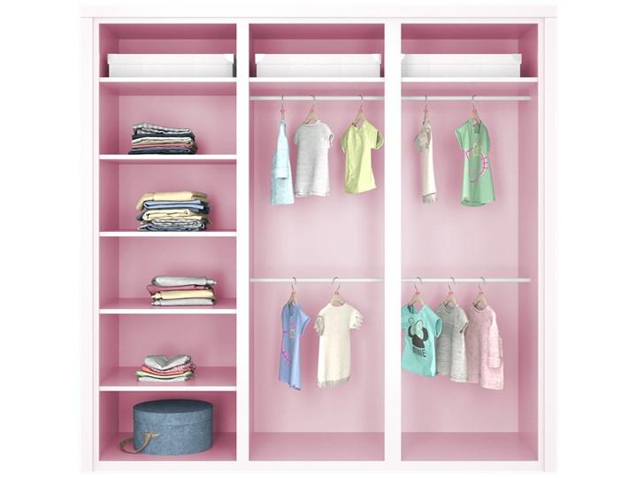 SIMONE Szafa S6 D , Kolor - Róż Kategoria Szafy do garderoby