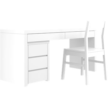 SIMONE Biurko S9 D , Kolor - Biały