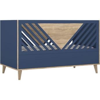 Tutu blue łóżeczko t7