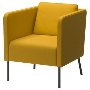 IKEA EKERÖ Fotel, Skiftebo żółty, Szerokość: 70 cm