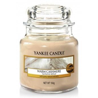 Słoik mały Yankee Candle Warm Cashmere słoik mały 104g