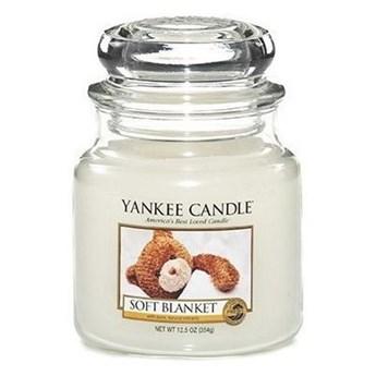 Słoik średni Yankee Candle Soft Blanket Słoik średni 411g