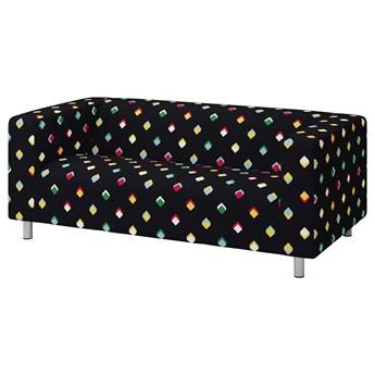 IKEA KLIPPAN Sofa 2-osobowa, Rotebro wielobarwny, Szerokość: 180 cm