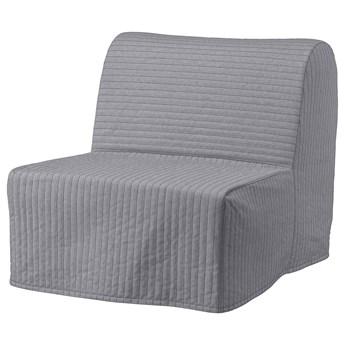 IKEA LYCKSELE MURBO Fotel rozkładany, Knisa jasnoszary, Szerokość: 80 cm