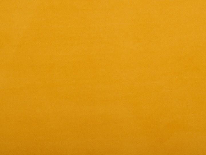 Szafka nocna żółta tapicerowana welurem 1 szafka stolik nocny minimalistyczny design Płyta MDF Drewno Metal Typ Nocne Tworzywo sztuczne Pomieszczenie Sypialnia