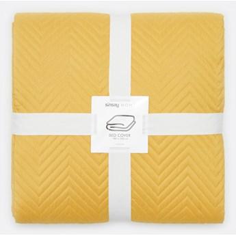 Sinsay - Narzuta na łóżko 180x220 - Żółty