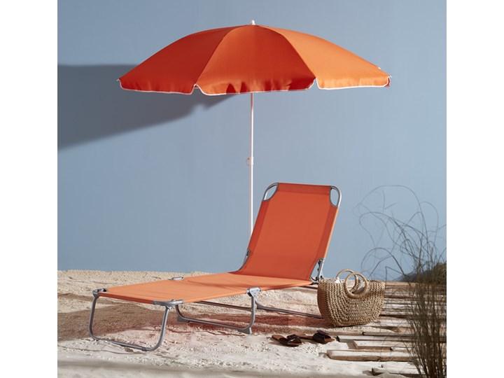 Leżanka Curacao pomarańczowa Leżanki Metal Kolor Pomarańczowy