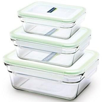 Zestaw pojemników na żywność GLASSLOCK GL-529 3 szt.
