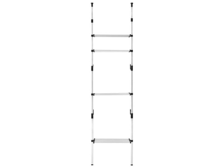 VidaXL System teleskopowych drążków z półkami do garderoby, aluminiowy Pomieszczenie Sypialnia Kategoria Zestawy mebli do sypialni