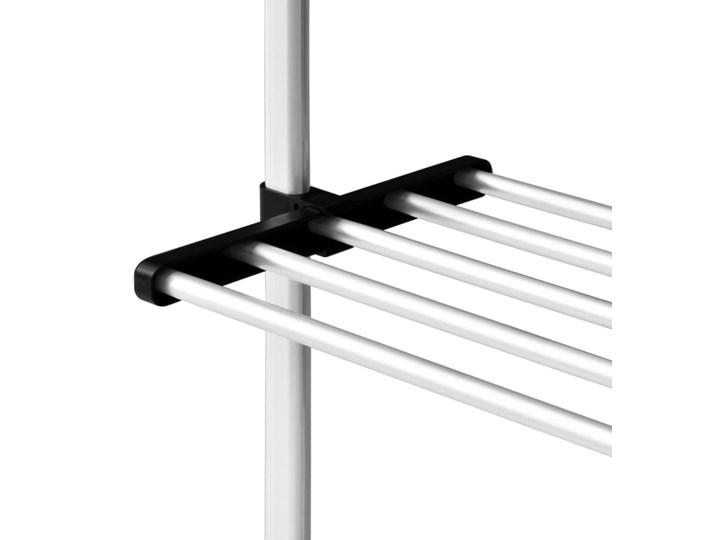 VidaXL System teleskopowych drążków z półkami do garderoby, aluminiowy Kategoria Zestawy mebli do sypialni Pomieszczenie Garderoba