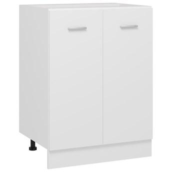 VidaXL Szafka kuchenna, biała, 60x46x81,5 cm, płyta wiórowa