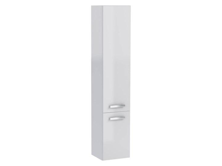 Słupek łazienkowy wysoki Mirano Vika 30 cm biały
