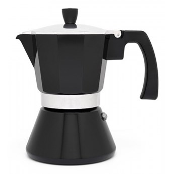 Kawiarka włoska Tivoli 6 cups - czarna / Leopold Vienna kod: LV113008