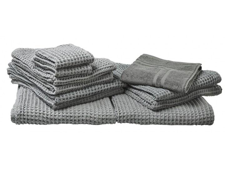 Komplet 11 ręczników bawełniany szary AREORA kod: 4251682258678