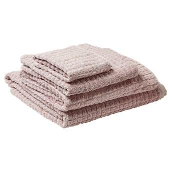 Komplet 4 ręczników bawełniany różowy ATAI kod: 4251682258630