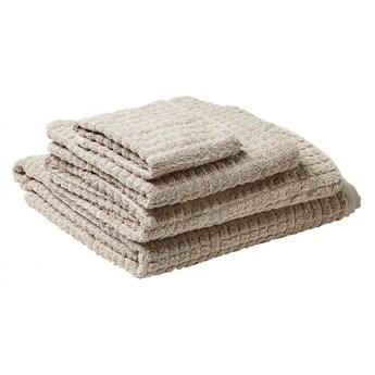 Komplet 4 ręczników bawełniany beżowy ATAI kod: 4251682258623