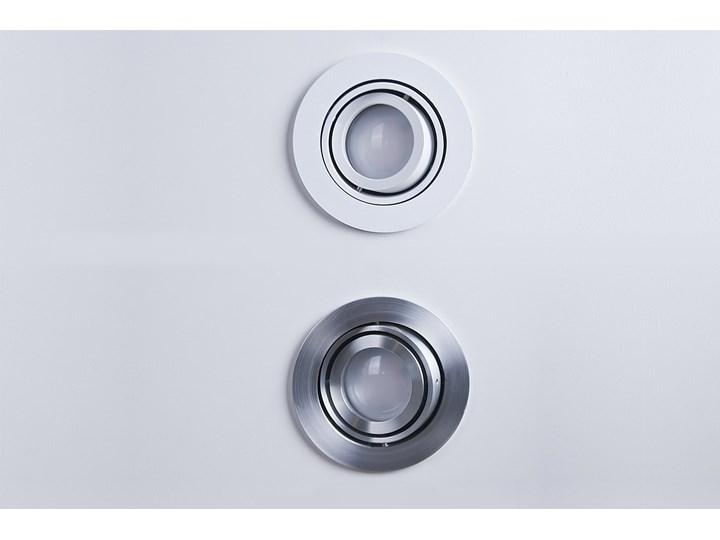 Lampa techniczna Carlo Okrągłe Oprawa wpuszczana Oprawa stropowa Kategoria Oprawy oświetleniowe Kolor Szary