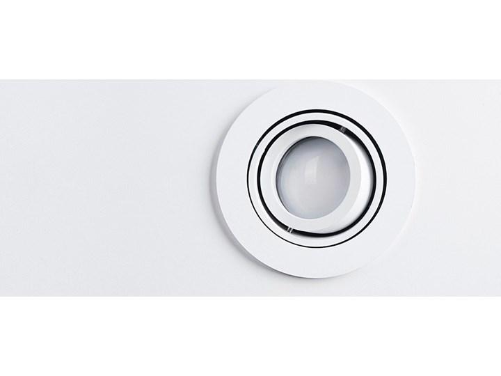 Lampa techniczna Carlo Oprawa stropowa Kategoria Oprawy oświetleniowe Oprawa wpuszczana Okrągłe Kolor Szary