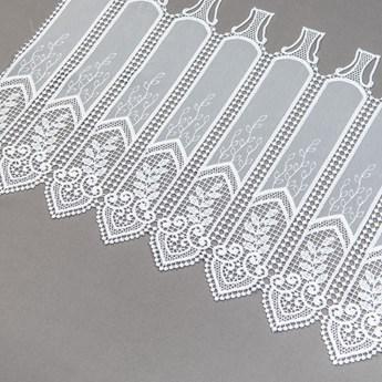 Zazdrostka gipiurowa z haftem  panelowa 98565 wys.40cm
