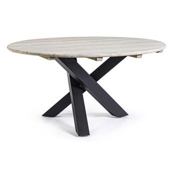 Donald stół na taras w kolorze czarnym