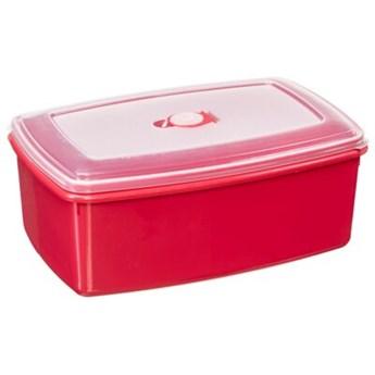 Pojemnik plastikowy PLAST TEAM Micro 15470802 5.1 L Czerwony