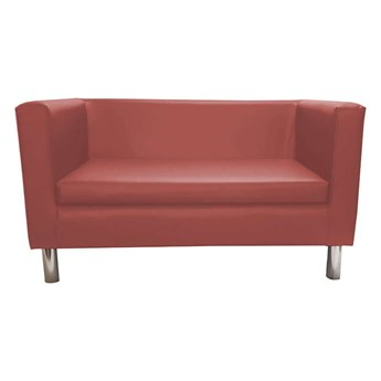 Light brown BACARDI sofa upholstered with eco-leather