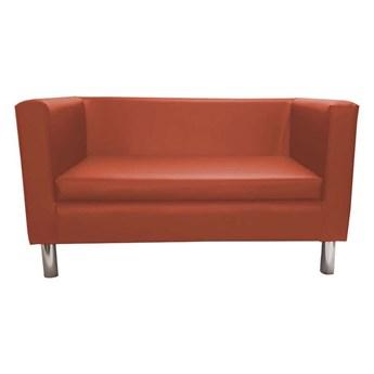 Sofa BACARDI Calvados upholstered with eco-leather
