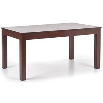 Nowoczesny rozkładany stół Daniels - ciemny orzech