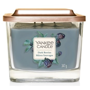 Świeczka średnia Yankee Candle Elevation Collection Dark Berries Słoik średni 347g