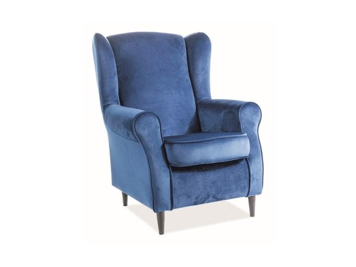 Fotel Uszak Baron Velvet - 9 kolorów antyczny róż Głębokość 53 cm Fotel pikowany Wysokość 53 cm Tworzywo sztuczne Szerokość 75 cm Tkanina Drewno Pomieszczenie Salon Plusz Wysokość 101 cm Styl Klasyczny