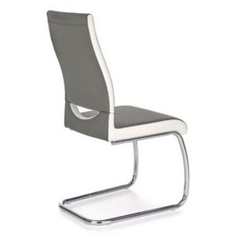 Krzesło K259 szary/biały HALMAR