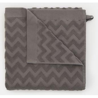 Sinsay - Bawełniany ręcznik 70x140 - Szary