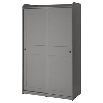 IKEA - HAUGA Szafa z drzwiami przesuwanymi