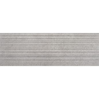 gres MUSE 3D RELIEVE GREY 120x40