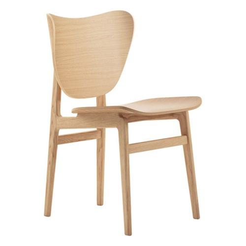 Krzesło Elephant - drewno dębowe Natural NORR11
