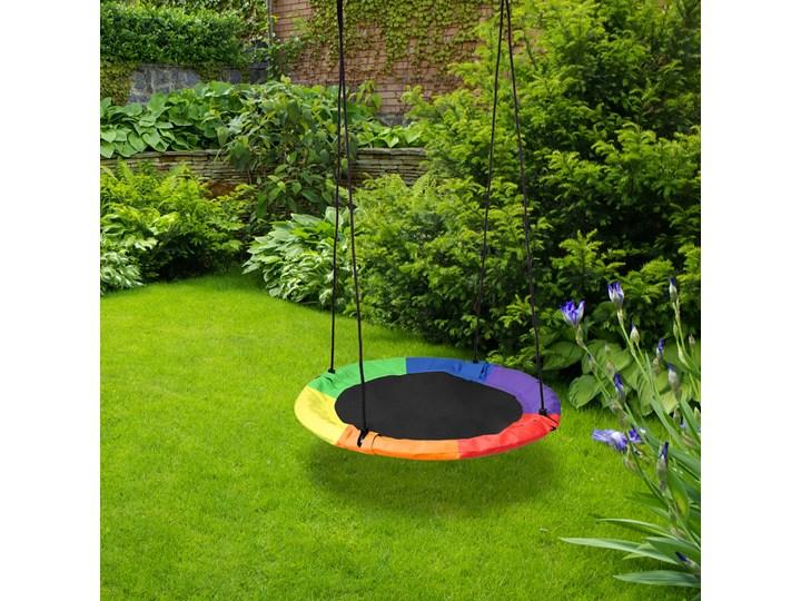 Huśtawka ogrodowa bocianie gniazdo ROMEK kolorowa 60cm Metal Pianka Kategoria Huśtawki dla dzieci