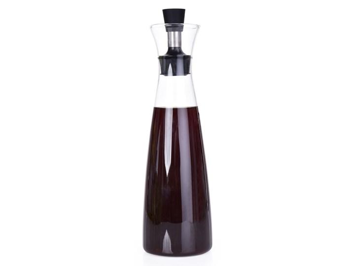 600 ml KARAFKA na olej/ocet/dressing, ze szkła borokrzemowego Pojemnik na ocet i oliwę Szkło Stal nierdzewna Shaker do sosów Kategoria Przyprawniki