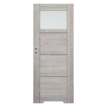 Drzwi z podcięciem Connemara 80 prawe dąb szary