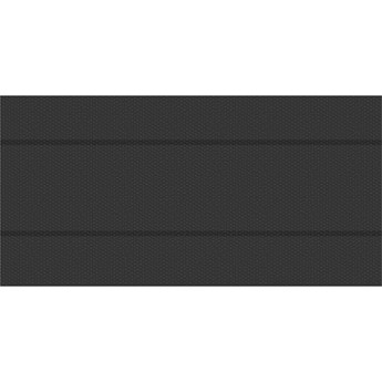 Plandeka, pokrywa na basen, folia solarna czarna, prostokątna - 500 x 1000 cm
