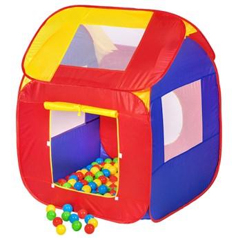 Namiot dla dzieci plus 200 piłek - kolorowy