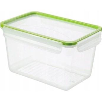 Pojemnik plastikowy ROTHO Clic & Lock 1162905518 3 L Zielony