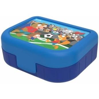 Pojemnik plastikowy ROTHO Memory Kids 1016410599 1 L Niebiesko-Granatowy