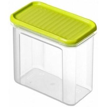 Pojemnik plastikowy ROTHO Domino 1742105070 1 L Limonkowy