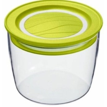 Pojemnik plastikowy ROTHO Cristallo 0.4 L Limonkowy